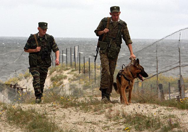 Russian border guards. (File)
