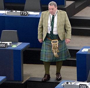 Scottish UKIP member of the European parliament David Coburn (File)