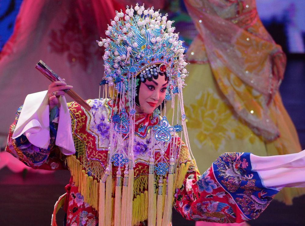 The Dazzling Opening Ceremony of the Chinese Culture Festival in Moscow
