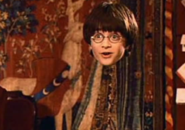 Invisibility Cloak,  Harry Potter and the Philosopher's Stone