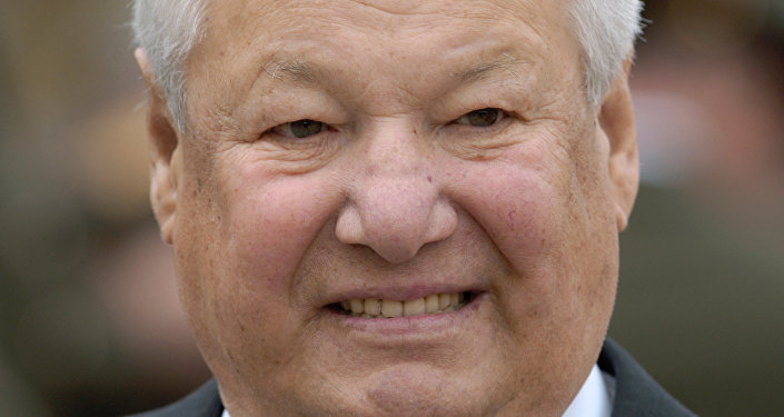 First Russian President Boris Yeltsin