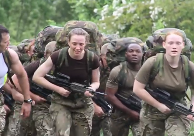 British Army Reserve Phase 1 Training