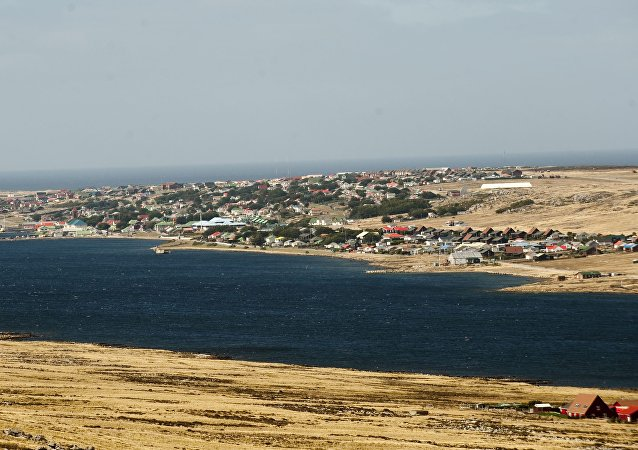 Port Stanley, in the Falkland Islands