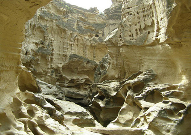 Chahkouh Valley at Qeshm Island