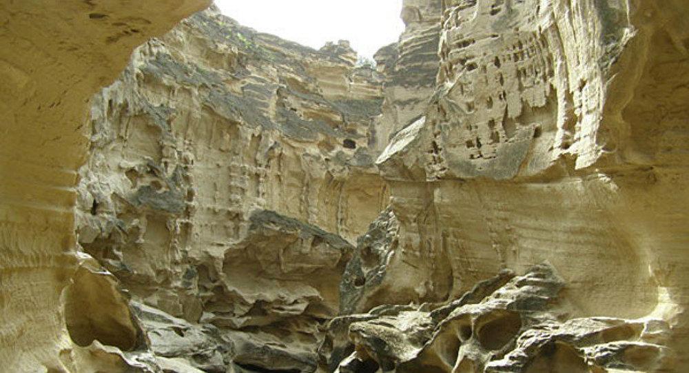 Chahkouh Valley at Qeshm Island