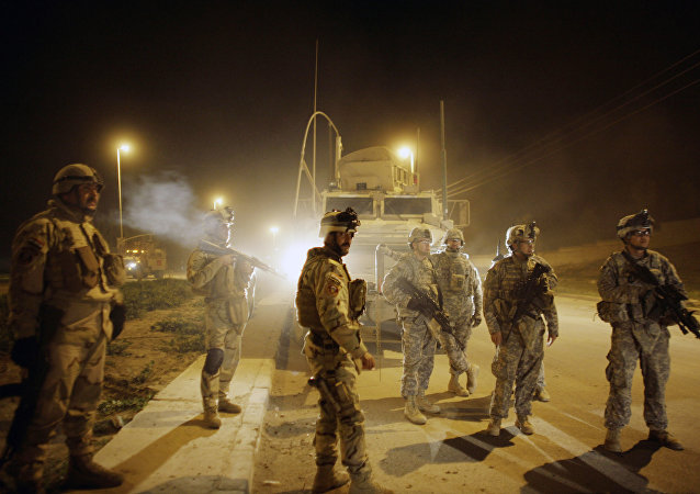 US Army soldiers , Mosul , north of Baghdad, Iraq (File)
