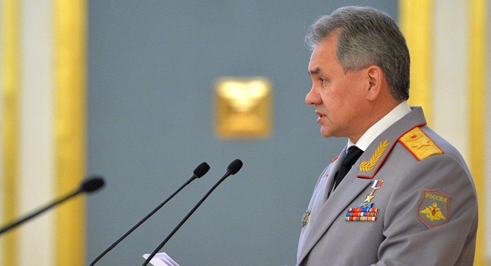 Defense Minister Sergei Shoigu