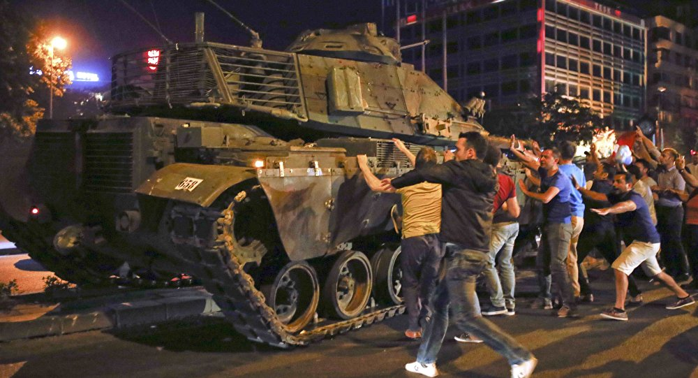 failed coup in turkey