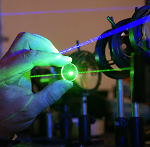 Work of laser probing industry in the Institute of image processing systems in Samara