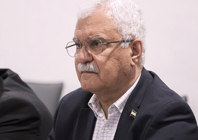 The High Negotiations Committee (HNC) delegation member George Sabra