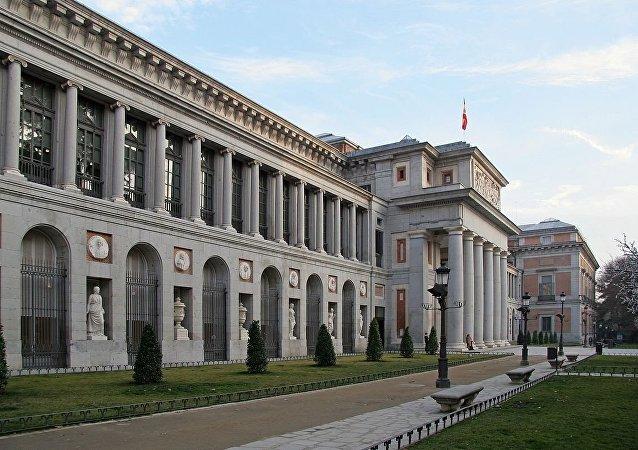 Prado Museum in Madrid (Spain)