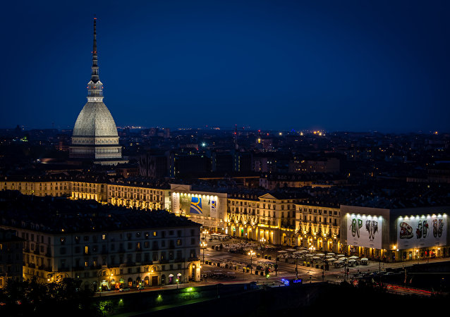 Turin, capital of the Italy's Piedmont region