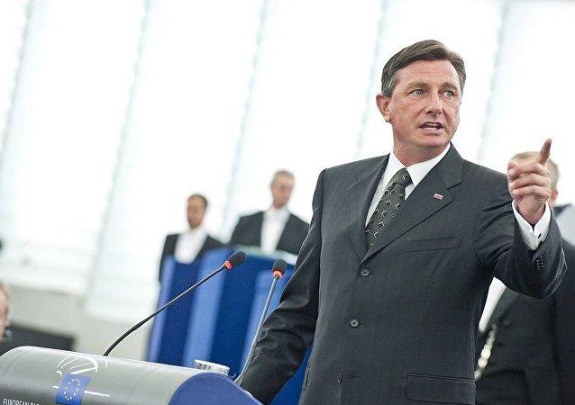 Slovenian President Borut Pahor