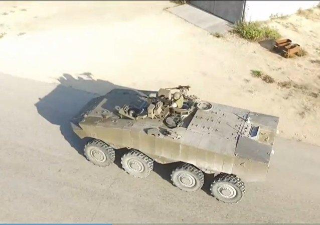 Eitan, Israeli Armored Personnel Carrier