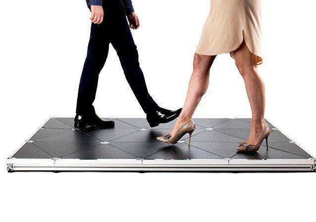 Pageven floor tiles