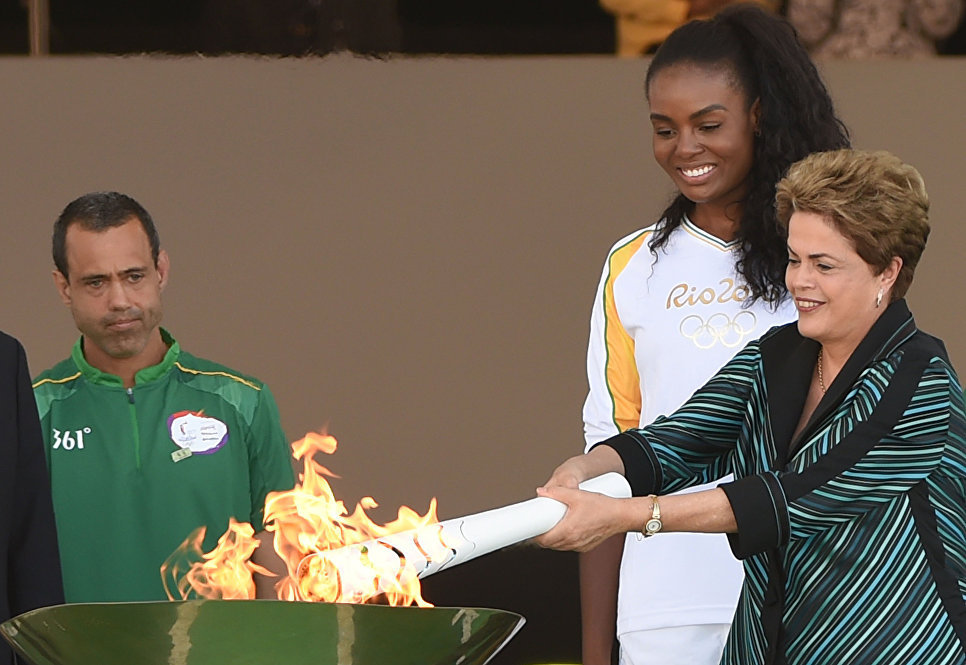 From Brasília to Rio, Torch Has Travelled All Way Here
