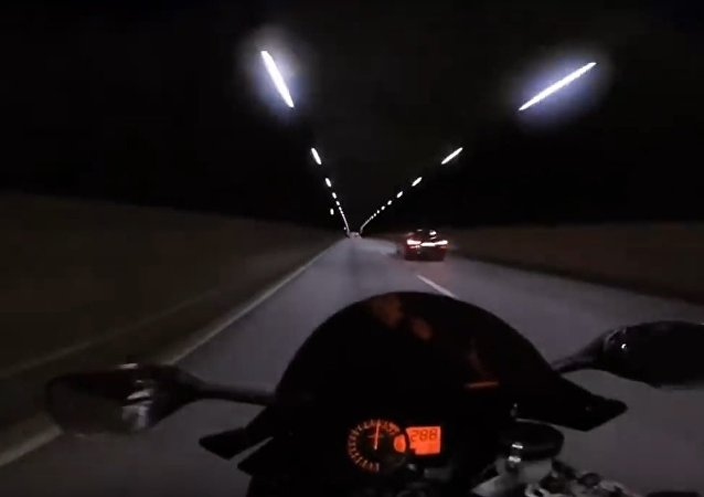 The famous Ghostrider is back terrorizing the streets. This guy is insane!