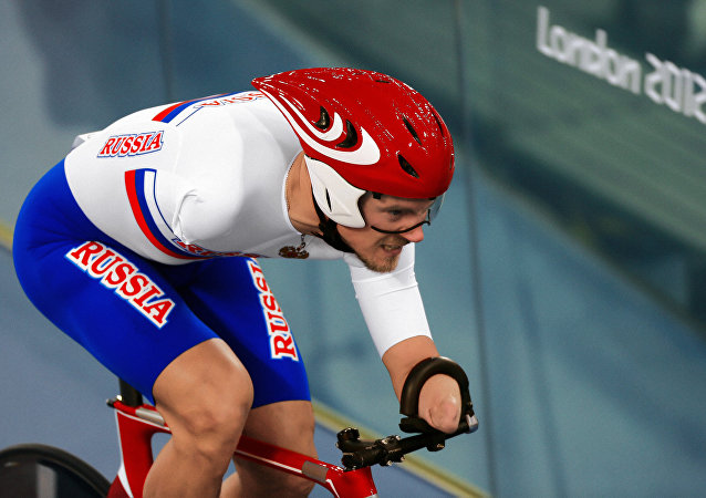 Russia's Alexei Obydennov competes in the 1km individual track time trial at the 14th Summer Paralympic Games in London. (File)