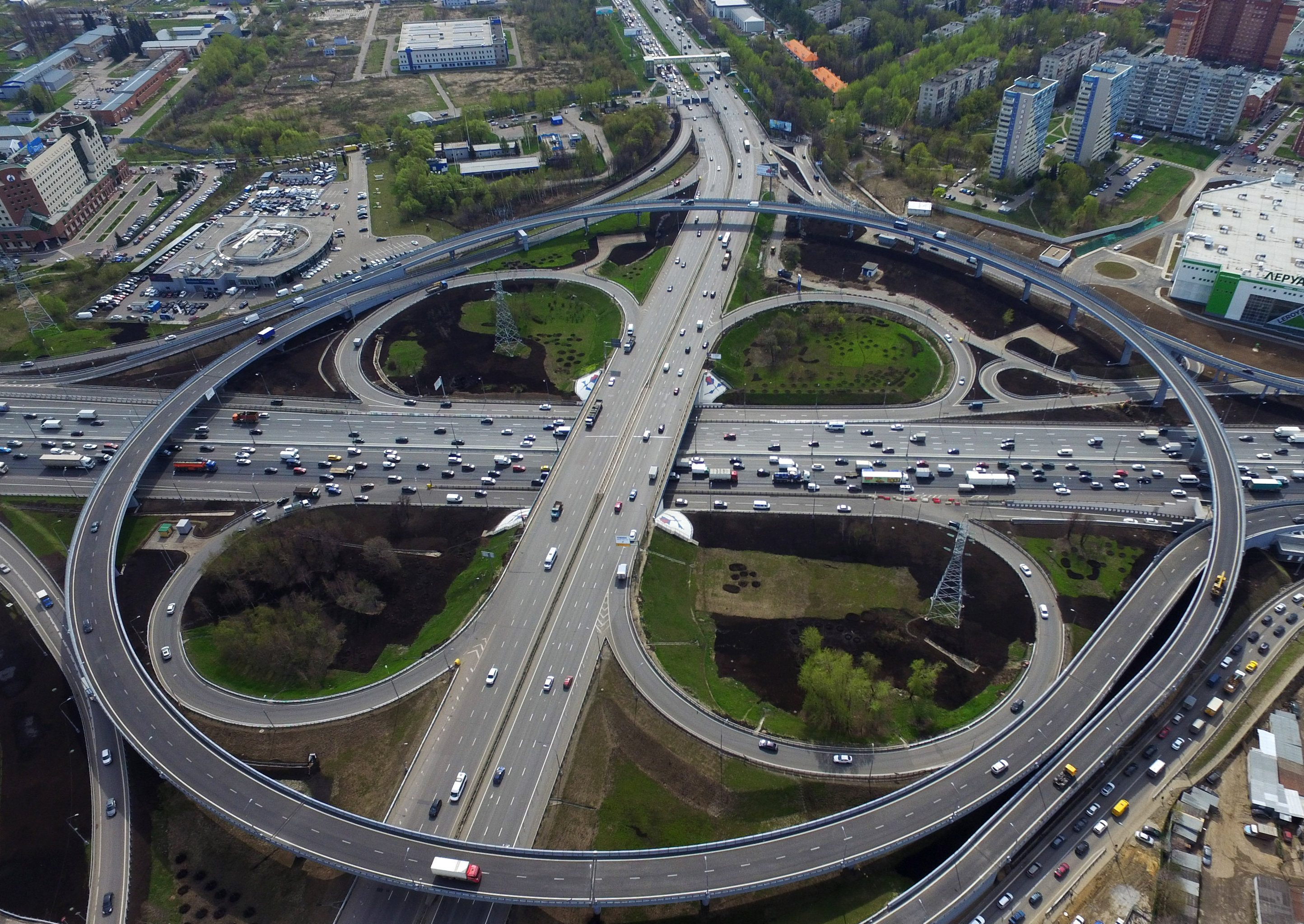 Moscow Ring Road: the length and general characteristics 98