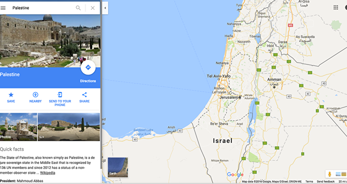 #BoycottGoogle: Backlash After Palestine Wiped From the Map