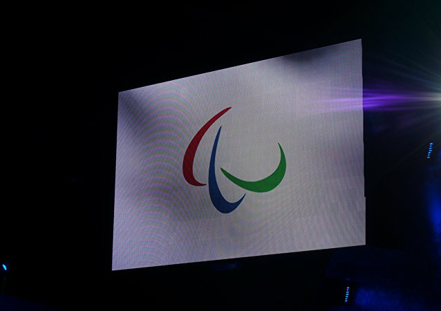 Paralympic flag. (File)