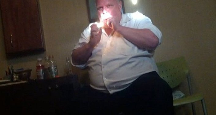 Video Showing Toronto Mayor Ford Smoking Crack Finally Released by the Courts