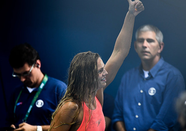 Yulia Efimova won silver in women's 200m breaststroke at the Summer Olympic Games.