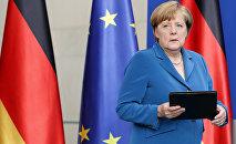 German Chancellor Angela Merkel (File)