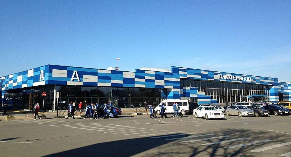 Terminal A of Simferopol International Airport
