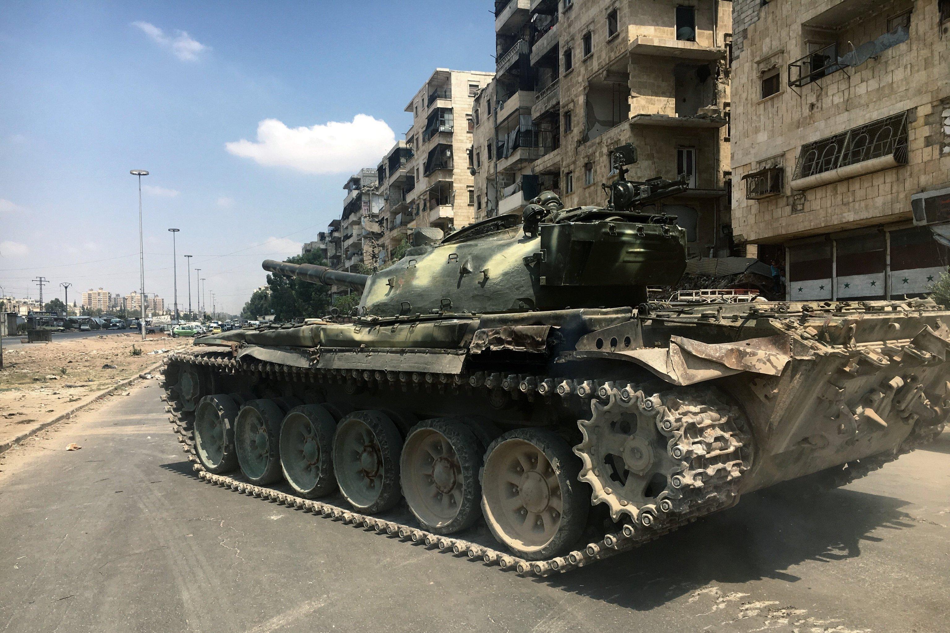 Syria: Suspected Chlorine Gas Attack In Aleppo