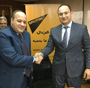 Sputnik news agency and radio has signed a cooperation agreement with the popular Arabic-language internet portal Akhbar Al-Youm