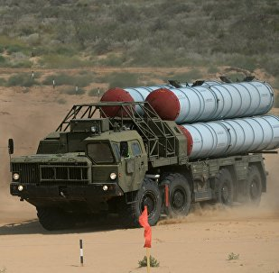S-300 anti-aircraft missile system