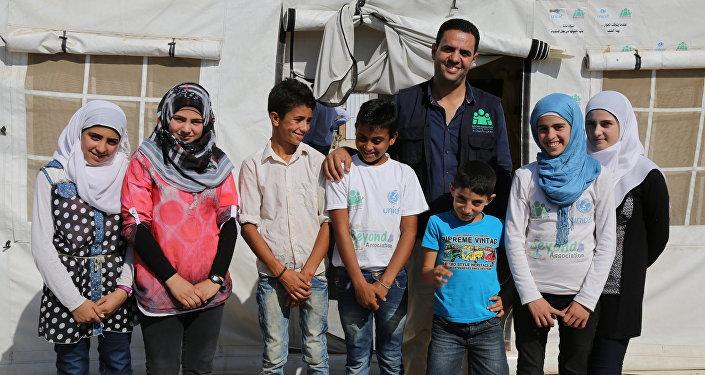 Syrian children in Lebanon