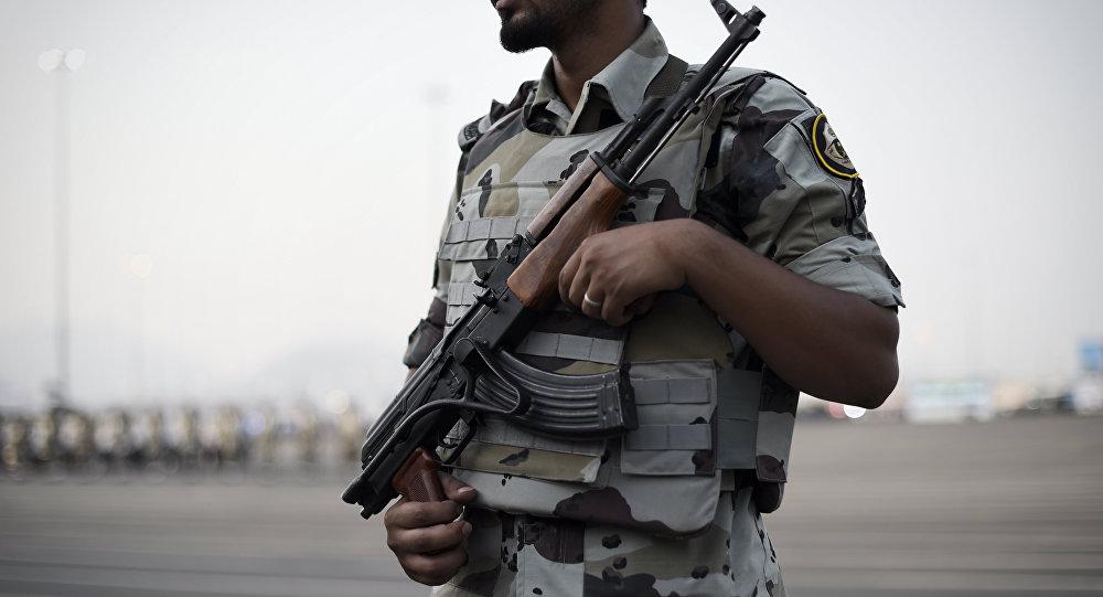 Member of the Saudi special police