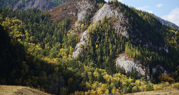 Autumn in Altai Republic