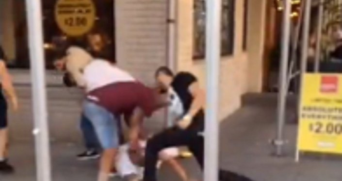 NYPD Officer Suspended After Gang-Style Beat-Down Caught on Camera