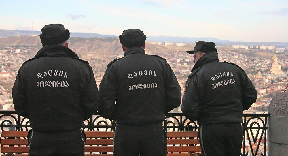 Georgian police