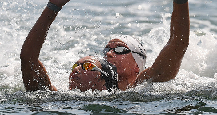 Olympics 2016. Swimming. Open water - 10 km. Women