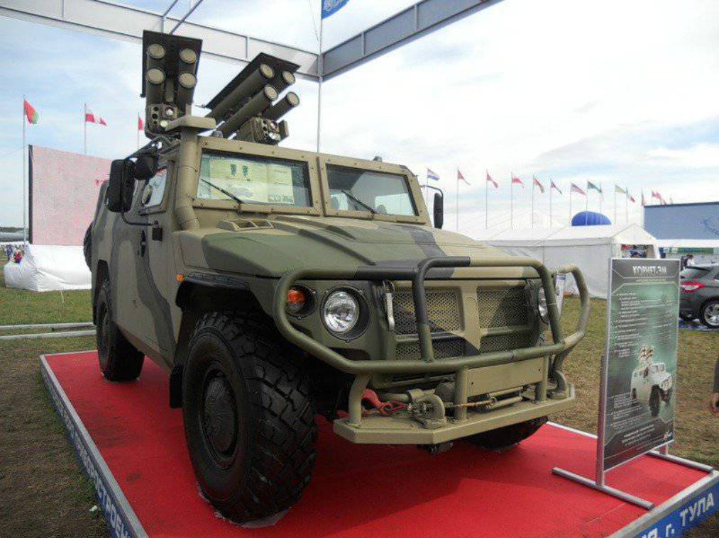 The Kornet-EM anti-tank missile system