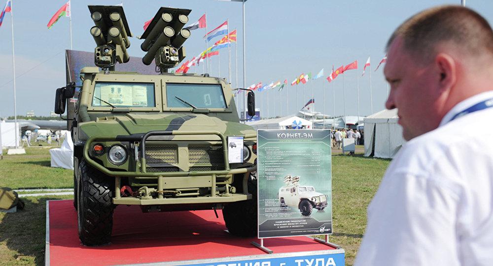 Multi-purpose missile system Cornet-M