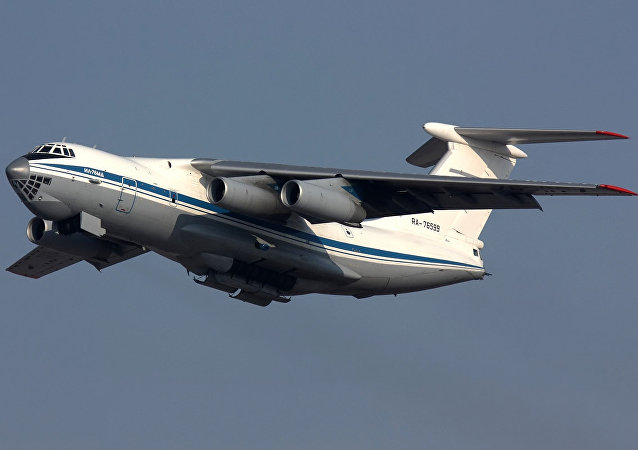 Russian Air Force Ilyushin Il-76MD