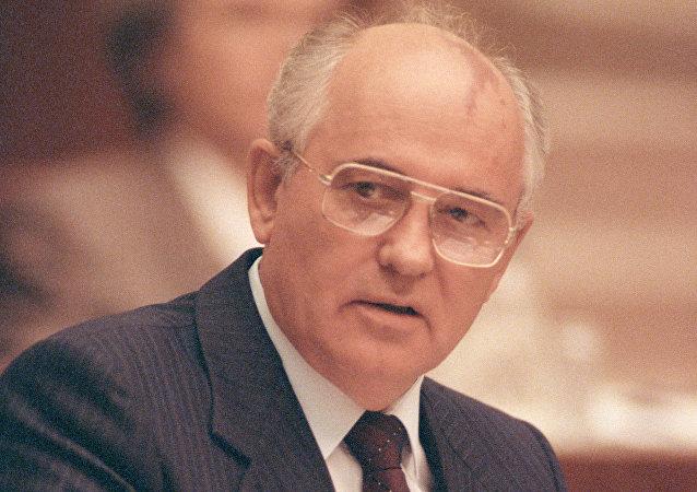 Mikhail Gorbachev in 1991
