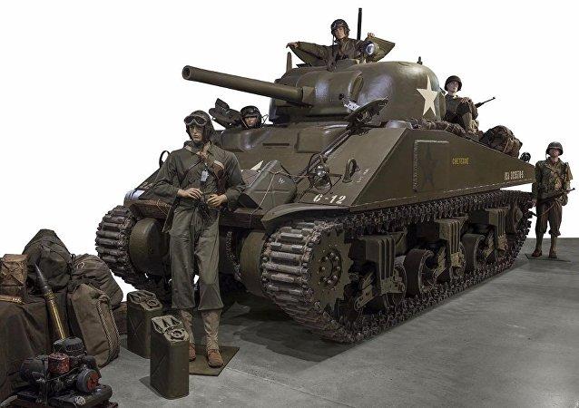 1944 M4A4 Sherman