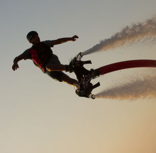 I Believe I Can Fly: Spectacular Flyboard Championship in Crimea