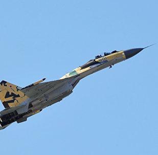 Multi-purpose fighter Su-35, latest of the last generation