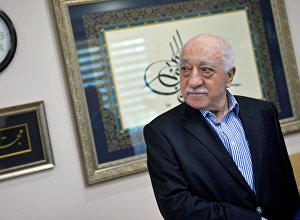 US-based cleric Fethullah Gulen at his home in Saylorsburg, Pennsylvania. file photo