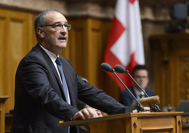 Swiss Defense Minister Guy Parmelin (File)