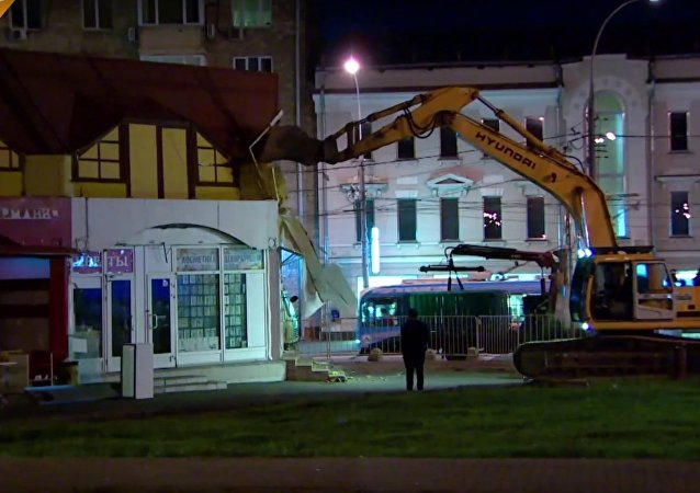 Illegal Buildings Demolished Across Moscow