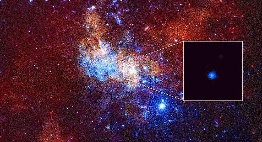 Chandra Detects Record-Breaking Outburst from Milky Way's Black Hole