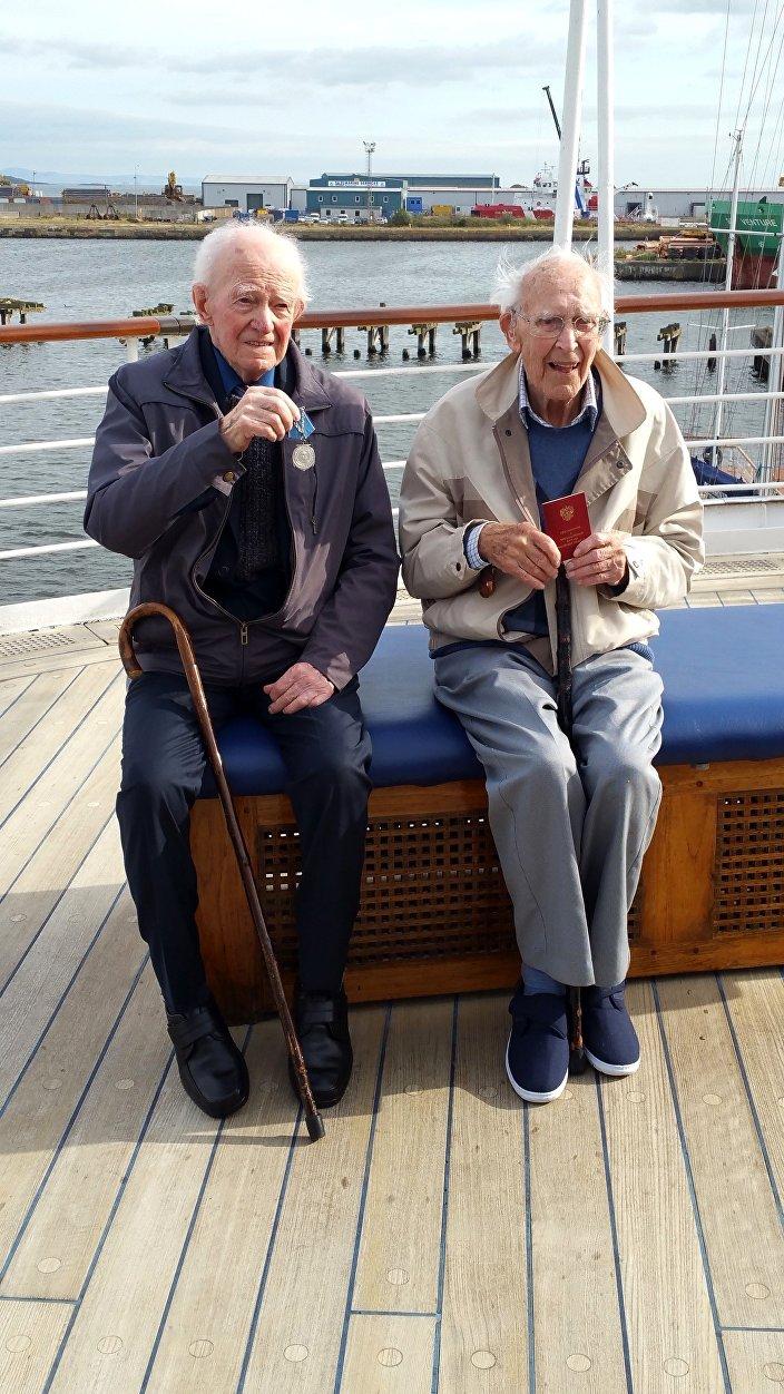 Arctic Convoy vets John Lawrie (97), Donald Dawkins (90)